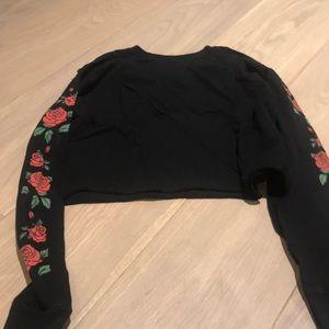 Black rose long sleeve